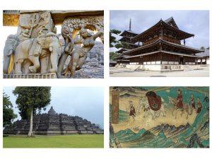 Visioconférence: les Trésors d'architecture bouddhique en Asie le Mercredi 10 Février 2021 à 19h